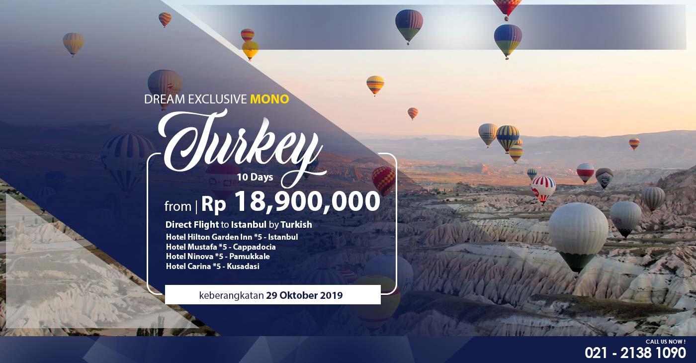 paket muslim tour turki