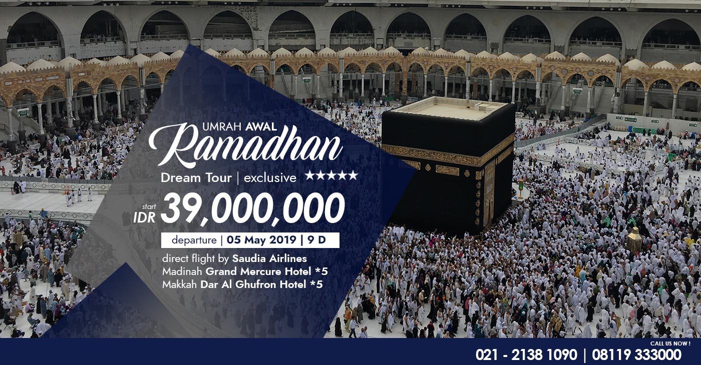 umroh ramadhan 2019, paket umroh ramadhan 1440 H, umroh ramadhan, dreamtour, paket umroh, travel umroh terbaik, travel umroh terpercaya, travel umroh jakarta