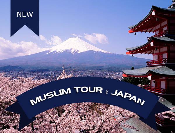wisata muslim jepang, paket wisata muslim