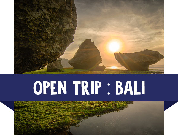paket wisata open trip bali