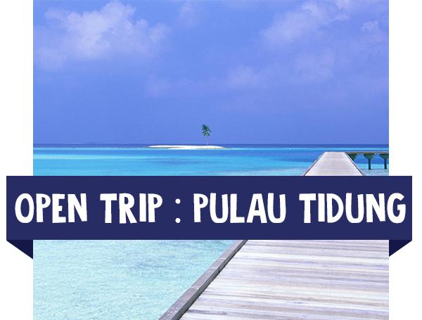 paket wisata open trip tidung