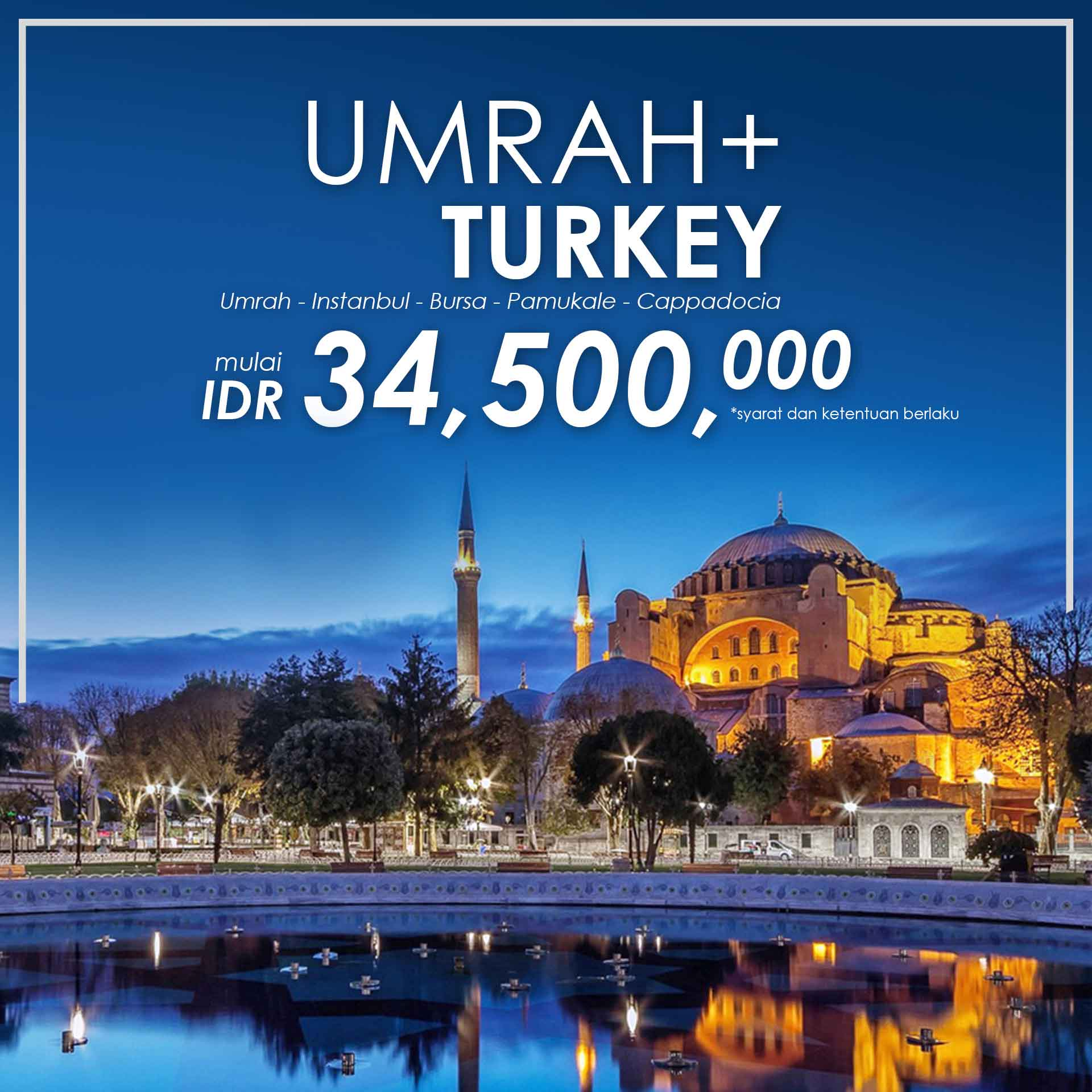 paket umroh plus, umroh plus, paket umroh plus 2017, pt dream tour and travel